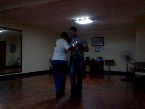 Steve teaching Argentine Tango to a student ( Suzette G.)