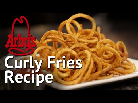 DIY Arby's Curly Fries