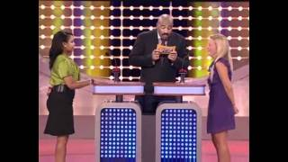 There is a lesson to be learned when it comes to rushing on Family Feud!