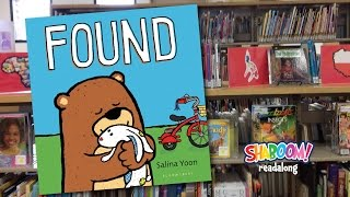 Preschool story readalong: FOUND by Salina Yoon