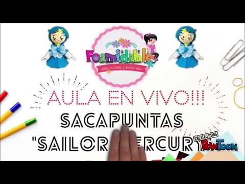 "Aula en vivo ""Sacapuntas Sailor Mercury"""