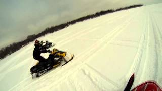 6. GoPro: 2014 Skidoo MXZ X vs 2014 Arctic Cat El Tigre