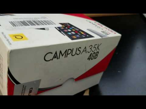 CELKON CAMPUS A35K DUAL SIM Unboxing Video – in Stock at www.welectronics.com