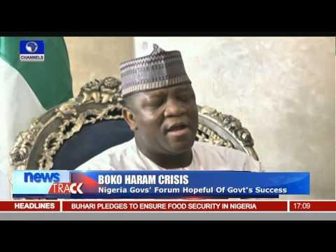 Insurgency War: Nigeria Governors Forum Hopeful FG's Success