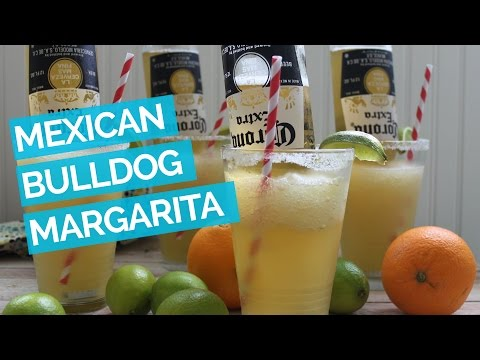 Cocktail Recips: Frosty Mexican Corona Bulldog Margarita Recipe