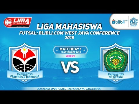 UPI VS UNSIL LIMA FUTSAL : BLIBLI.COM WEST JAVA CONFERENCE 2018