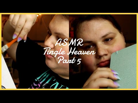 ASMR Tingle Heaven Part 5 (Paper Ripping, Acrylic Nails + More!)