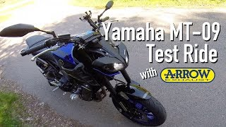 9. 2018 Yamaha MT-09 First Ride & Impressions