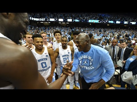Michael Jordan Returns To North Carolina | CampusInsiders (видео)