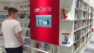 Der eCircle präsentiert digitale Medien direkt in Ihrer Bibliothek