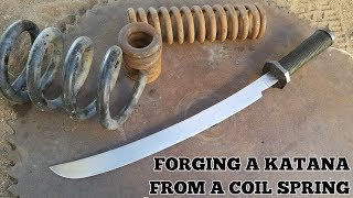 Video Forging A Katana From A Coil Spring MP3, 3GP, MP4, WEBM, AVI, FLV Februari 2019