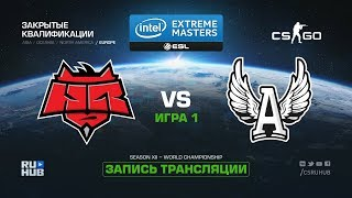 HellRaisers vs AGO - IEM Katowice Qual EU - map1 - de_mirage [GodMint, SleepSomeWhile]
