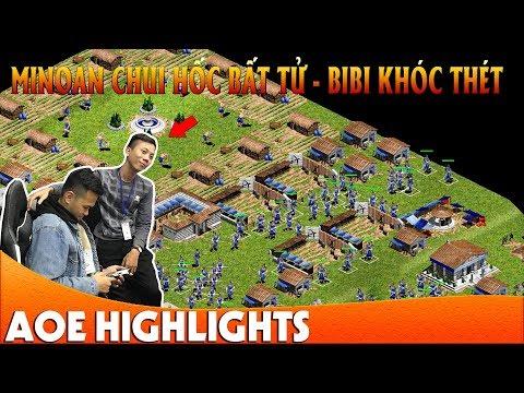 Trận cầm Minoan chui hốc Triệu View của Chim Sẻ Đi Nắng | AoE Highlight - Thời lượng: 13:39.