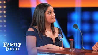 Video I'd love to get my hands on Steve Harvey's... | Celebrity Family Feud MP3, 3GP, MP4, WEBM, AVI, FLV Juni 2018