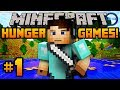 """Minecraft HUNGER GAMES - w/ Ali-A #1! - """"FISHING FOR KILLS!"""""""