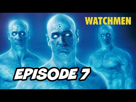 Watchmen Episode 7 Doctor Manhattan - TOP 10 WTF and Easter Eggs