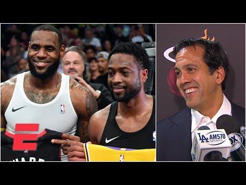 Video: LeBron James is 'a Miami Heat player' - Erik Spoelstra | NBA on ESPN
