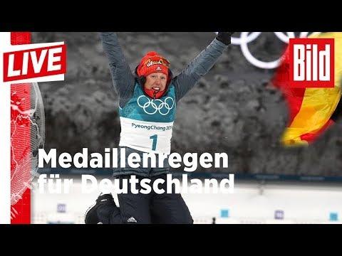 Medaillenregen für Deutschland bei Olympia - BILD Liv ...