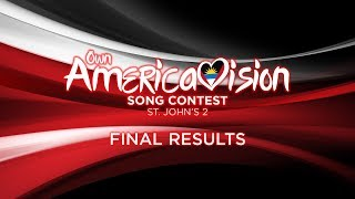 Video Own Americavision Song Contest 2: Final Results MP3, 3GP, MP4, WEBM, AVI, FLV November 2017