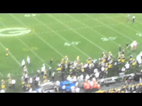Good times at the Packers vs Saints preseason game. Skybox VIP SEATING