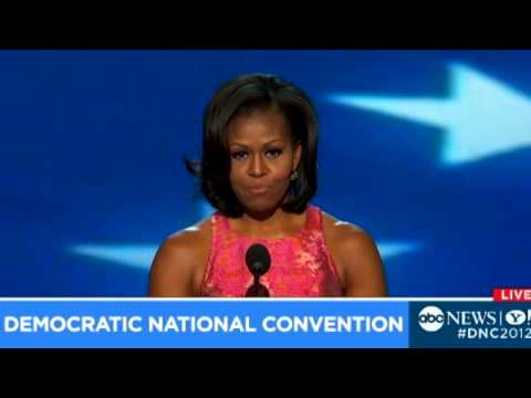 Michelle Obama's Democratic National Convention Speech 2012