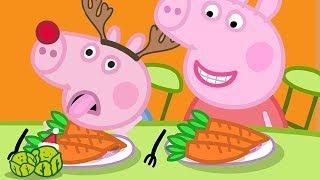 Peppa Pig en Español Episodios completos | Rebeca Liebre | Especial de Navidad | Pepa la cerdita