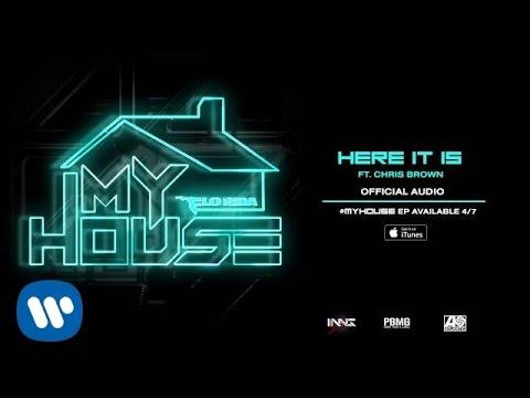 Tekst piosenki Flo Rida - Here It Is (feat. Chris Brown) po polsku
