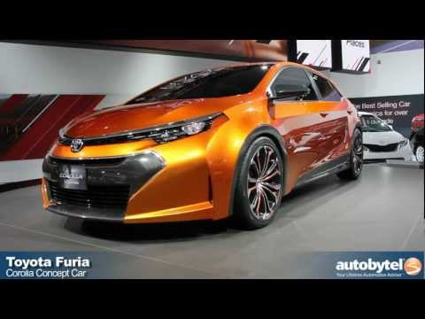 Toyota Corolla Furia Concept at the 2013 Detroit Auto Show