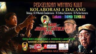 Video KOLABORASI 3 DALANG KONDANG - KI MANTEB - KI ENTHUS - KI PURBO MP3, 3GP, MP4, WEBM, AVI, FLV November 2018