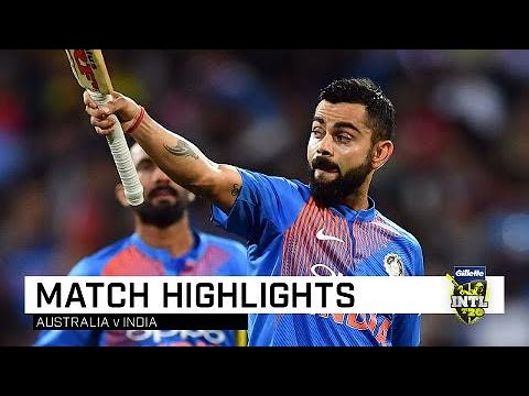 Kohli, Krunal secure series-levelling win | Third Gillette T20