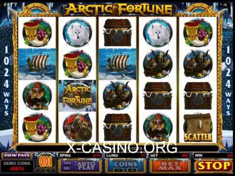 Arctic Fortune - онлайн слот Casino X