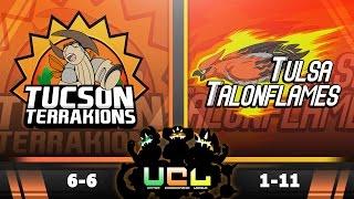 Pokémon ORAS LIVE Wi-Fi Battle [UCL S2W13] Tucson Terrakions vs Tulsa Talonflames by King Nappy