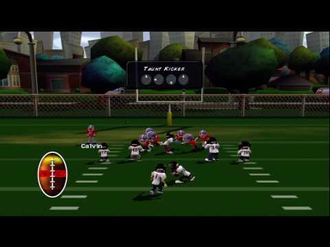 backyard football 39 10 xbox 360 hd gameplay season mode game crabs