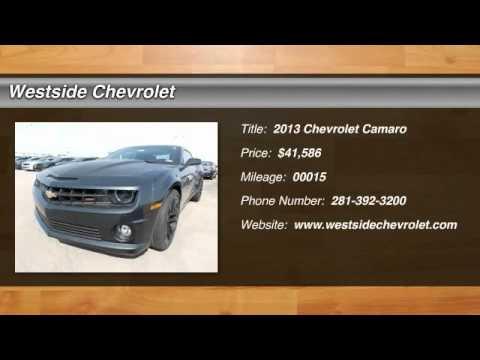 2013 Chevrolet Camaro Katy Texas 31007