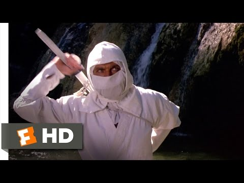 Enter The Ninja (1981) - The White Shinobi Scene (1/13) | Movieclips