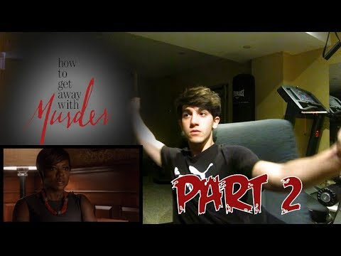 """How to Get Away With Murder Season 1 Episode 8 REACTION - 1x08 """"He Has a Wife"""" Reaction PART 2"""