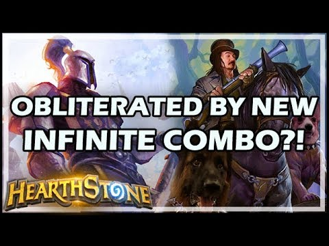 OBLITERATED BY NEW INFINITE COMBO?! - Boomsday / Hearthstone