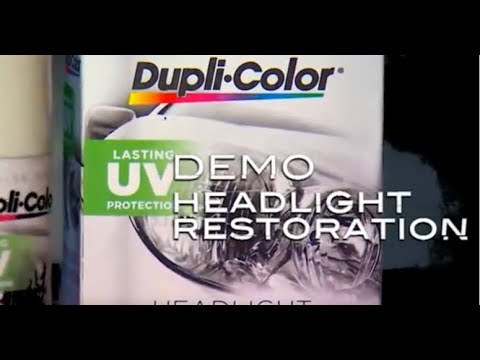 Headlight Restoration Kit - Dupli-Color