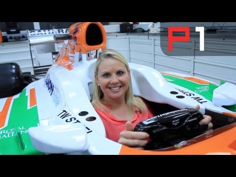 F1 - Formula 1 driver Adrian Sutil shows us around his Sahara Force India F1 car and tells us how to get the most out of the cars capabilities. Subscribe for more...