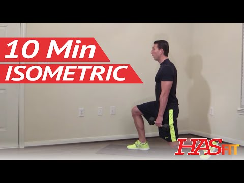 10 Minute Isometric Workout – HASfit Isometric Training Exercises – Isometrics Exercise