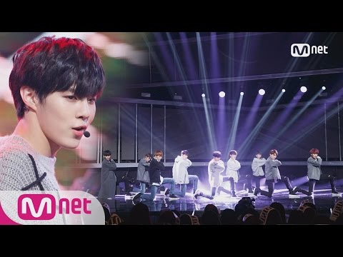 [UP10TION - White Night] KPOP TV Show | M COUNTDOWN 161222 EP.504