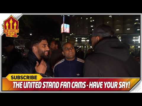 Young is the worst! Barcelona 3-0 Manchester United FanCam