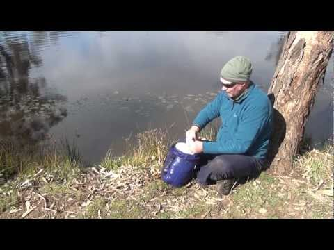 How to waterproof a sleeping bag [HD] by AdventurePro