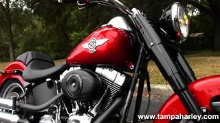 10. 2013 Harley-Davidson Fat Boy Lo FLSTFB