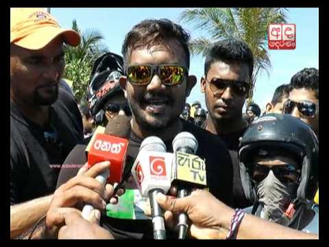 Ban on full-face helmets: protest staged in Galle Face