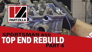 4. Polaris Top End Rebuild Part 4: Set Cam Timing & Install Cylinder Head | Partzilla.com