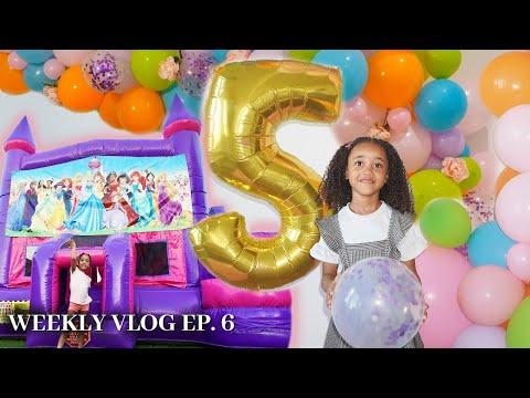 Ziya's 5th Birthday! THE BIG SURPRISE! | RAY'S WEEK [S2 E6]