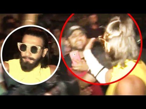 Ranveer Singh SLAPS A Fan When Teased About Deepika Padukone In PUBLIC