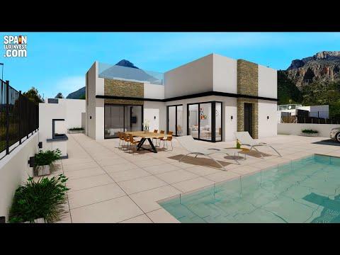 359000€/Купить недорого дом в Испании с панорамными видами на море/Недвижимость в Испании/Дом у моря
