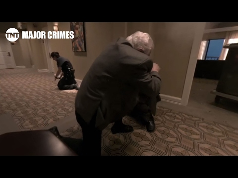 Major Crimes Featurette '360 Video: The Shootout'